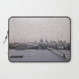 Rainy St. Paul's Laptop Sleeve
