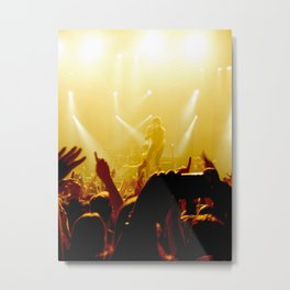 The Kooks at New York City Metal Print