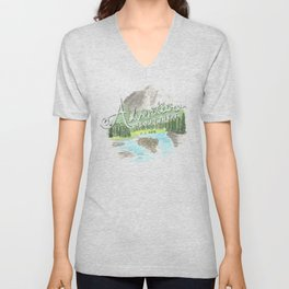 """Adventure is Out There!"" - Up, Pixar Unisex V-Neck"