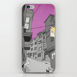 Historical Street View iPhone Skin