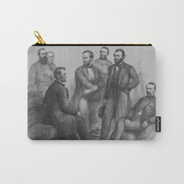 President Lincoln and His Commanders Carry-All Pouch