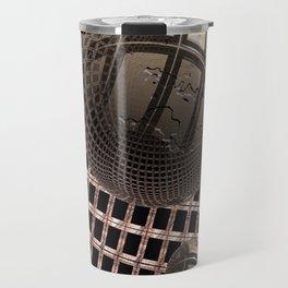 Spheres Under Construction Travel Mug