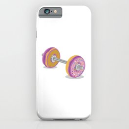 Donut Work-Out iPhone Case