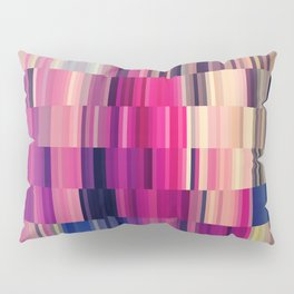 Abstract summer bright square pattern Pillow Sham
