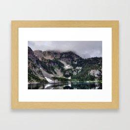 Alpine Lakes Scenic Framed Art Print