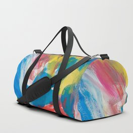 Abstract Artwork Colourful #4 Duffle Bag