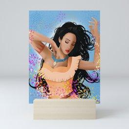 Color of the Winds Mini Art Print