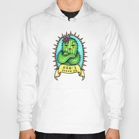 sassy Hoodies featuring Sassy Cactus by LittleWillowArt
