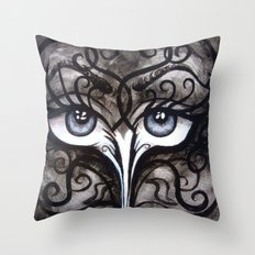 Eyes of Color Throw Pillow