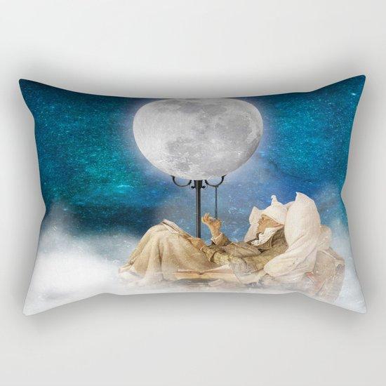 Good Night Moon Rectangular Pillow
