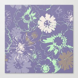 Late Summer Lavender Canvas Print