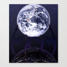 The pillars of the Earth Canvas Print