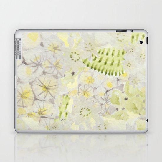 Lemon Abstract Laptop & iPad Skin