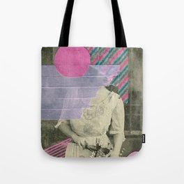 Cyclamen Girl Tote Bag