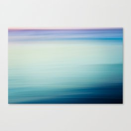I Love the Sea Ombre Abstract Canvas Print