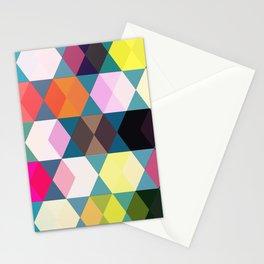 Tivoli Colourful Pattern  Stationery Cards