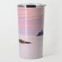 San Cristobal Reefs At Sunset . Travel Mug