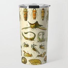 "Adolphe Millot ""Insectes"" Nouveau Larousse 1905 Travel Mug"