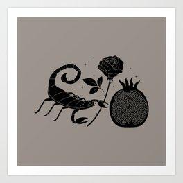 New Moon in Scorpio Art Print