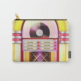 Vintage Jukebox Carry-All Pouch