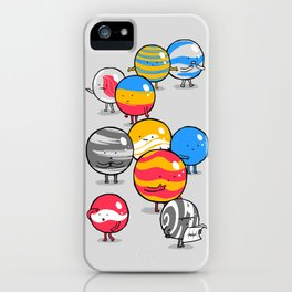 The Lost Marbles iPhone Case