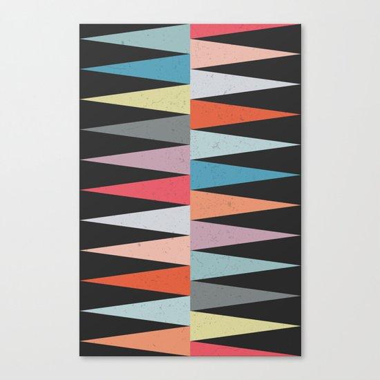 Peaks Canvas Print