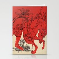 catcher in the rye Stationery Cards featuring Catcher by Julia Lopez