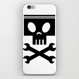 Piston cross wrenches iPhone Skin