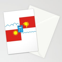 Sochi flag Stationery Cards
