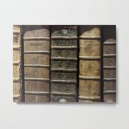 old books Metal Print