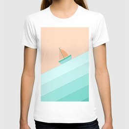 Boat on the Water #1 T-shirt