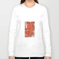 wood Long Sleeve T-shirts featuring - wood - by Magdalla Del Fresto