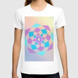 Mandal color wheel T-shirt