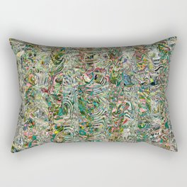 Dream Jungle (Ghana) Rectangular Pillow