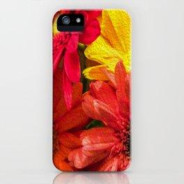 Sunny Daisy Flower Art iPhone Case