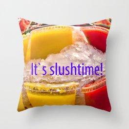 Slush Chiller Throw Pillow