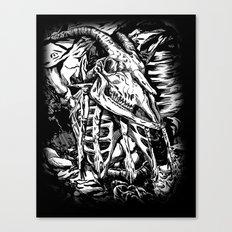 GOREHOUND Canvas Print