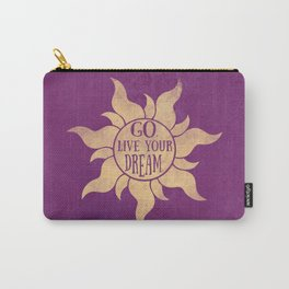 Live your Dream Carry-All Pouch