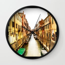 Old Venice Wall Clock