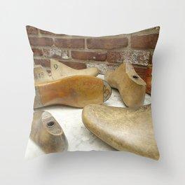 Shoe Maker Photography art Throw Pillow