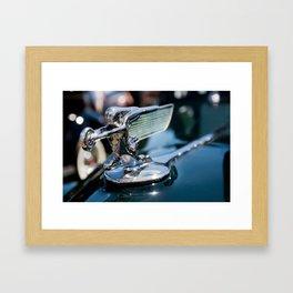 Hood Ornament Framed Art Print