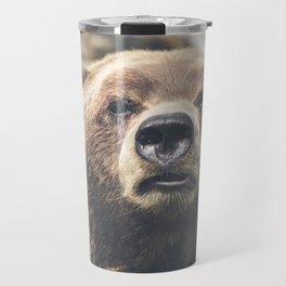 Bear Head Travel Mug