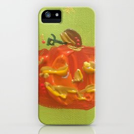 Happy Jack iPhone Case