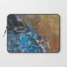 Blotched Ocean Wave Laptop Sleeve