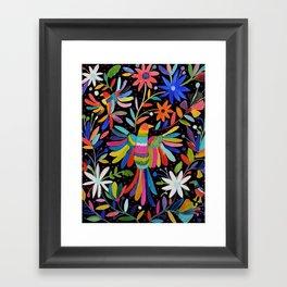 pajaros Otomi Framed Art Print