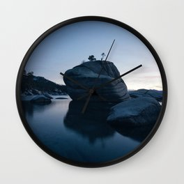 Rocks Landscape Boulder Wall Clock