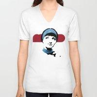 mod V-neck T-shirts featuring MOD by Matt Irving