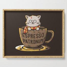 Espresso Patronum Serving Tray