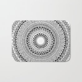 Leaved Mandala Original Bath Mat