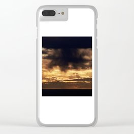 Cloud Monster, Something out of a Storm Clear iPhone Case
